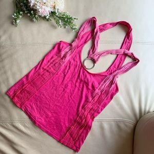 🍍2 for $10! A|X hot pink ombré tank